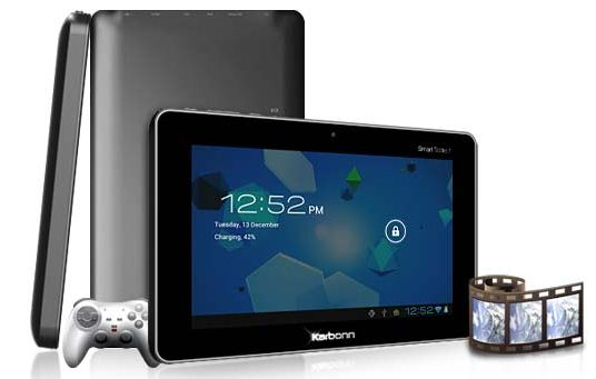 Karbonn Smart Tab 1 – World of affordable tablets…