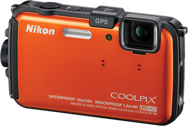 Nikon Coolpix S100 Point & Shoot – Creativity with technology