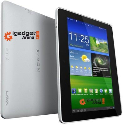 Lava E-tab Xtron Tablet with 1.5 GHz Dual Core and Jelly Bean Android.