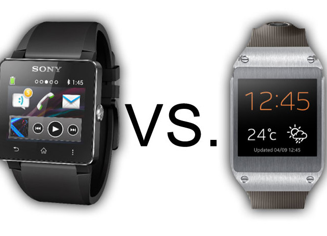 the fight of tech watches samsung galaxy gear vs sony