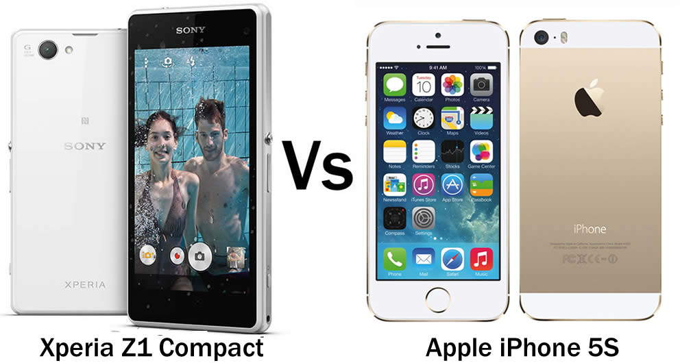 Sony Xperia Z1 Compact Vs iPhone 5s