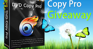 WinX DVD Copy Pro 2014 Spring Giveaway