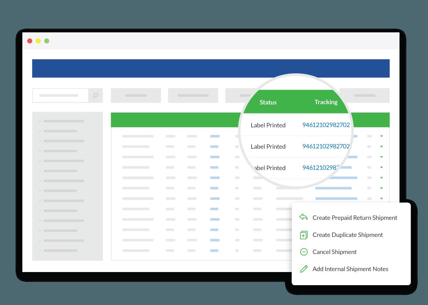 Online Shipment Platform